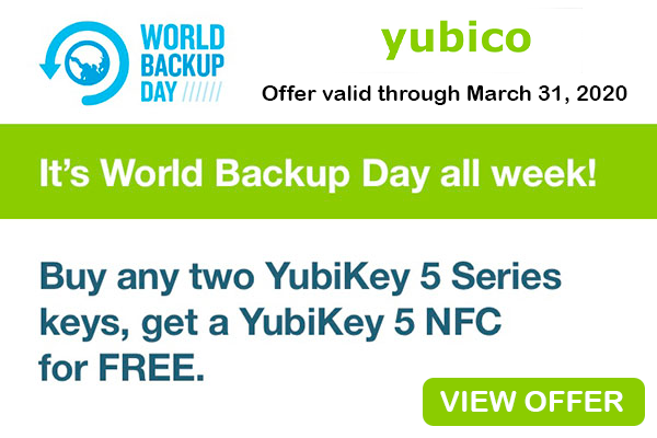 View offer on yubico
